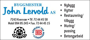 Byggmester John Lervold AS